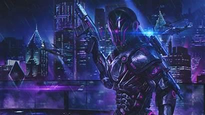 Cyberpunk 4k Sci Fi Wallpapers Soldiers Fiction
