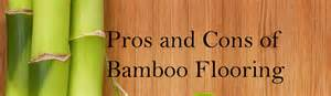 carbonized bamboo flooring pros and cons
