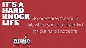 It U0026 39 S A Hard Knock Life Lyrics  Annie 2014  Chords