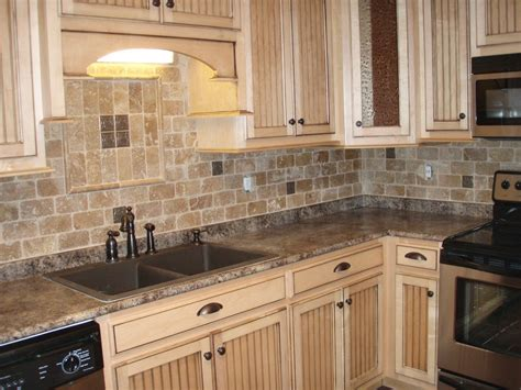 Kitchens With Backsplash Tiles by Kitchen Create Any Type Of Look For Your Kitchen With