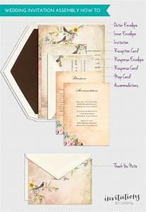 Assembling wedding invitations invitations by dawn for Etiquette assembling wedding invitations