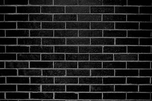 Black Brick Wall Texture Photos Public Domain