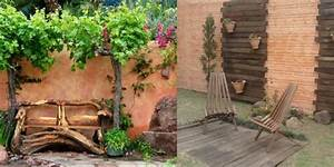 deco de jardin pour embellir votre exterieur With habiller un mur exterieur en bois 5 comment decorer un interieur avec des lames de bois
