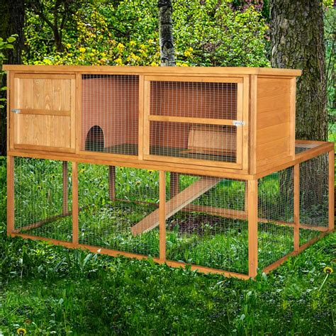 home roost 6ft kendal rabbit hutch and run