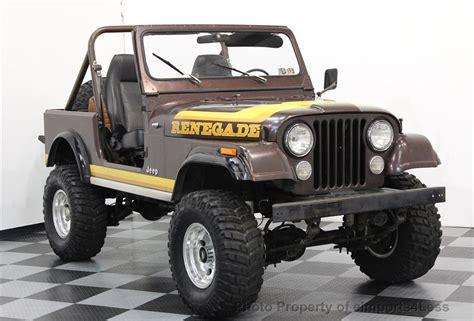 cj jeep wrangler 1982 used jeep wrangler cj7 renegade 4x4 at eimports4less