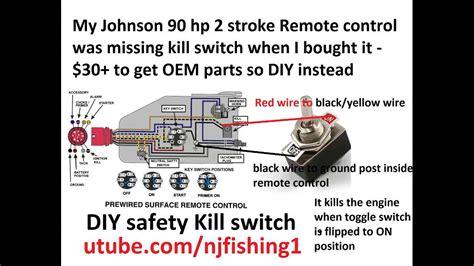 johnson  hp diy kill switch explained  toggle