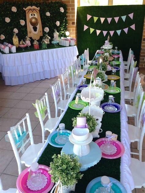 in tea decorations kara s ideas in un birthday tea