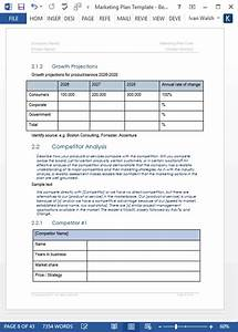 Free Business Spreadsheets Marketing Plan Templates 5 X Word 10 Excel Spreadsheets