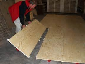 plywood floor temporary modular portable flooring floors studio ideas
