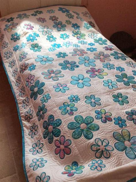 flower blocks  quilt   hoop machine embroidery design sweet pea