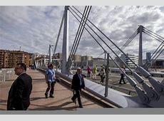 Inauguración del puente frank gehry, que une Pais