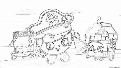 Coloring Chocolate Pages Shopkins Bar Milk Printable