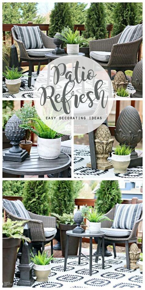 Easy Patio Decorating Ideas Todays Creative Life
