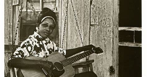 A Young Jessie Mae Hemphill Mississippi Hill Country Blues