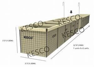 Hesco Barrier Mil 3 Hesco Bastion Barrier