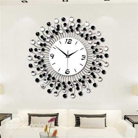 Decorative Living Room Wall Clocks by Modern Classic Living Room Decorative Wall Clock