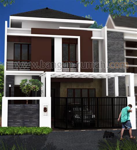desain rumah minimalis lengkap  rab