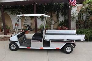 Club Car Carryall 6 Golf Cart - Used Cushman Titans