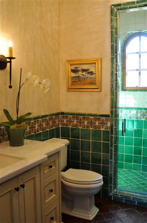 Spanish style home   Traditional   Bathroom   San