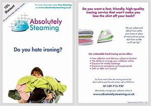 ironing services flyers pictures to pin on pinterest With ironing service flyer template