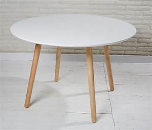 Tisch Rund 160 Cm : esstisch wei holz rund ~ Bigdaddyawards.com Haus und Dekorationen