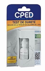 Test Dureté De L Eau : test de duret accessoire cped ~ Premium-room.com Idées de Décoration