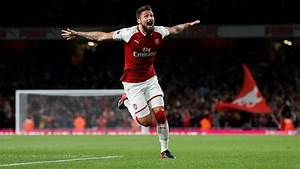 Super-sub Olivier Giroud scores at death as Arsenal beat ...