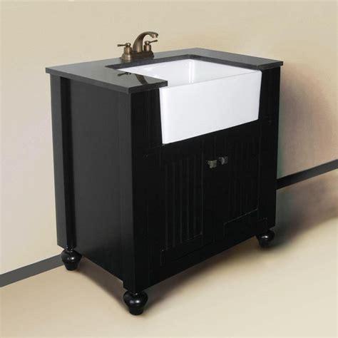 apron sink bathroom vanity granite top 30 inch farmhouse apron style single sink
