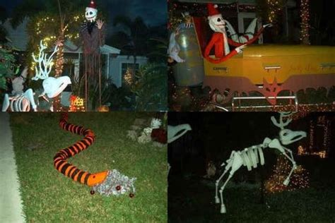 nightmare before yard decorations nightmare before decor the snake garbage