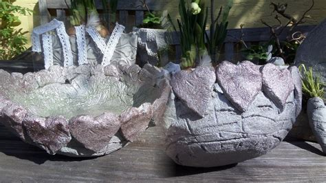 diy beton herz schale selber machen leicht gemacht f 252 r 1 50 how to