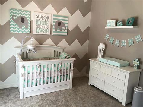 Modern Nursery Room Decor