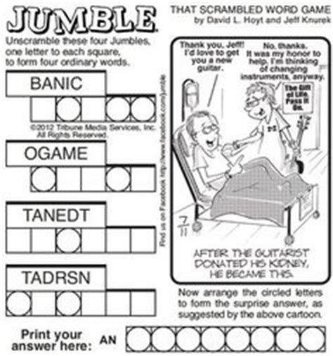 Jumble at the amersham arms tomorrow. 1000+ images about jumble on Pinterest   Word puzzles, Puzzles and Word games