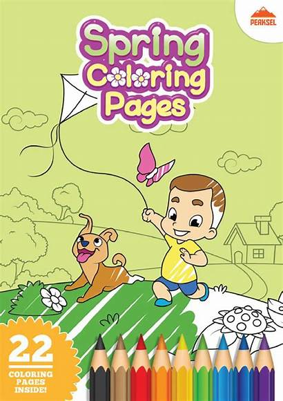 Coloring Printable Pages Pdf Spring Page1 1200px
