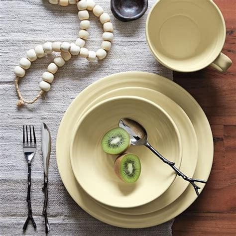dinnerware natural crafted larger