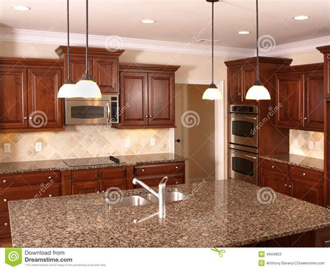 luxury kitchen islands luxury kitchen with island 3 stock photos image 4944853 3918