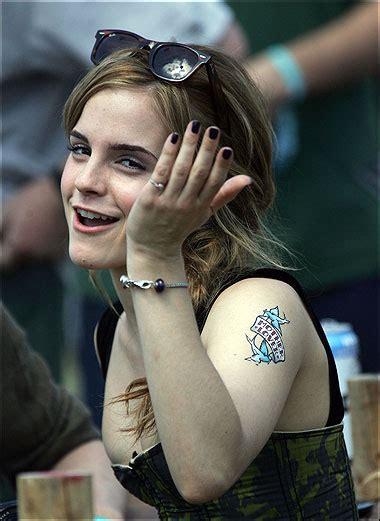 Tatoos Emma Watson Tattoo Arm