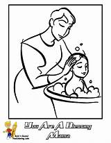 Coloring Mothers Pages Mama Yescoloring Mother Bathing Clipart Children Boys Lds Son Blessing Sheets Clip Books Marvelous Primary Activities sketch template