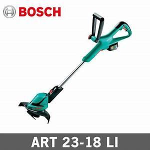 Bosch Art 23 : qoo10 bosch art 23 18 li cordless lithium ion grass trimmer featuring syneon tools ~ Watch28wear.com Haus und Dekorationen