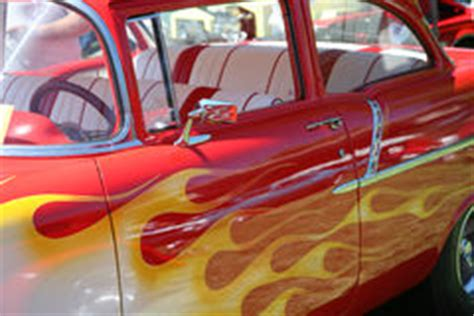 Gemalte Flammen Stock Abbildung Illustration Von Inferno