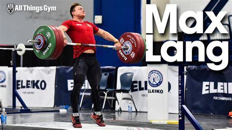 max lang snatches snatch pulls  squats