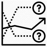Forecasting Icon Trend Data Icons Determine Direction