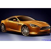 How To Draw An Aston Martin Virage Step By