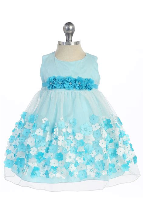 yellow mesh infant flower girl dress  taffeta flowers