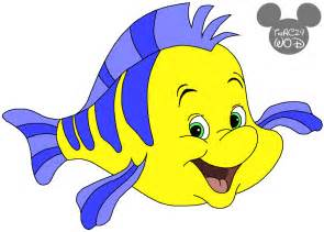 Flounder Little Mermaid