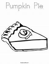 Pie Pumpkin Coloring Outline Built California Usa sketch template