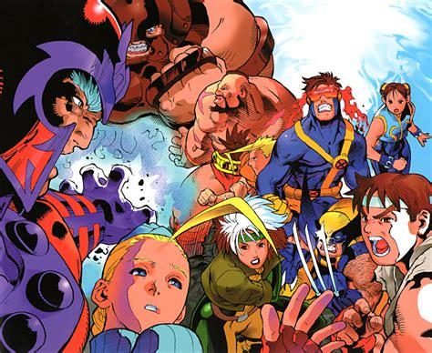 X Men Vs Street Fighter Capcom Database Capcom Wiki