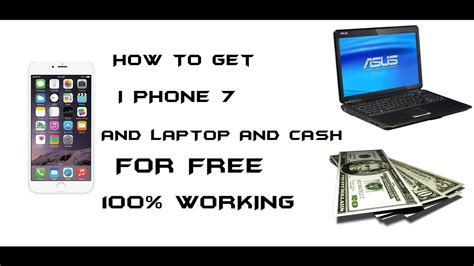 how to get iphone how to get iphone 7 for free 100 working
