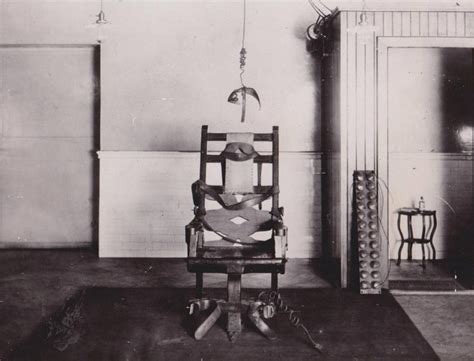 the execution by electric chair