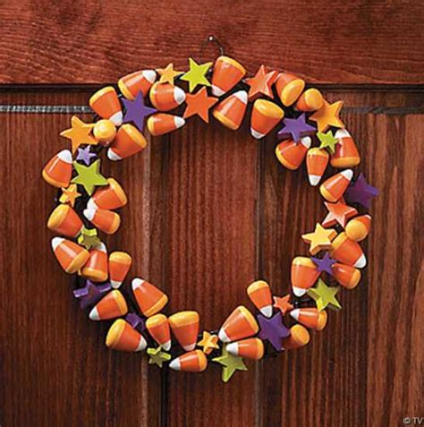 fall craft decorations handmade door wreaths offering great craft ideas and cheap fall decorations