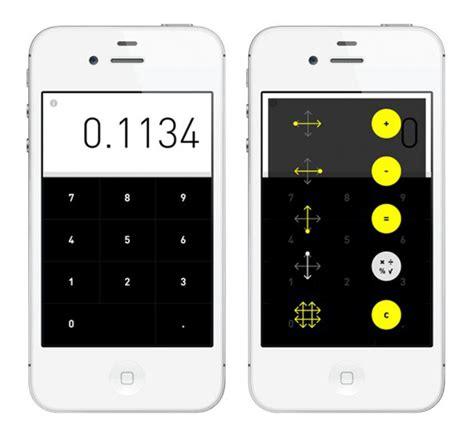 calculator app for iphone rechner calculator iphone app gestural arithmetic technabob